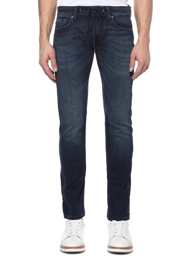 7 For All Mankind Pantolon İndigo